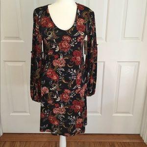 Karen Kane Floral Printed Harper Dress Size S NWT
